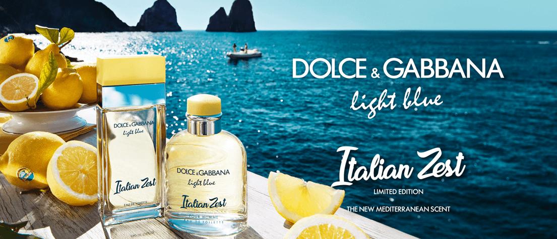 dolce gabbana light blue italian zest