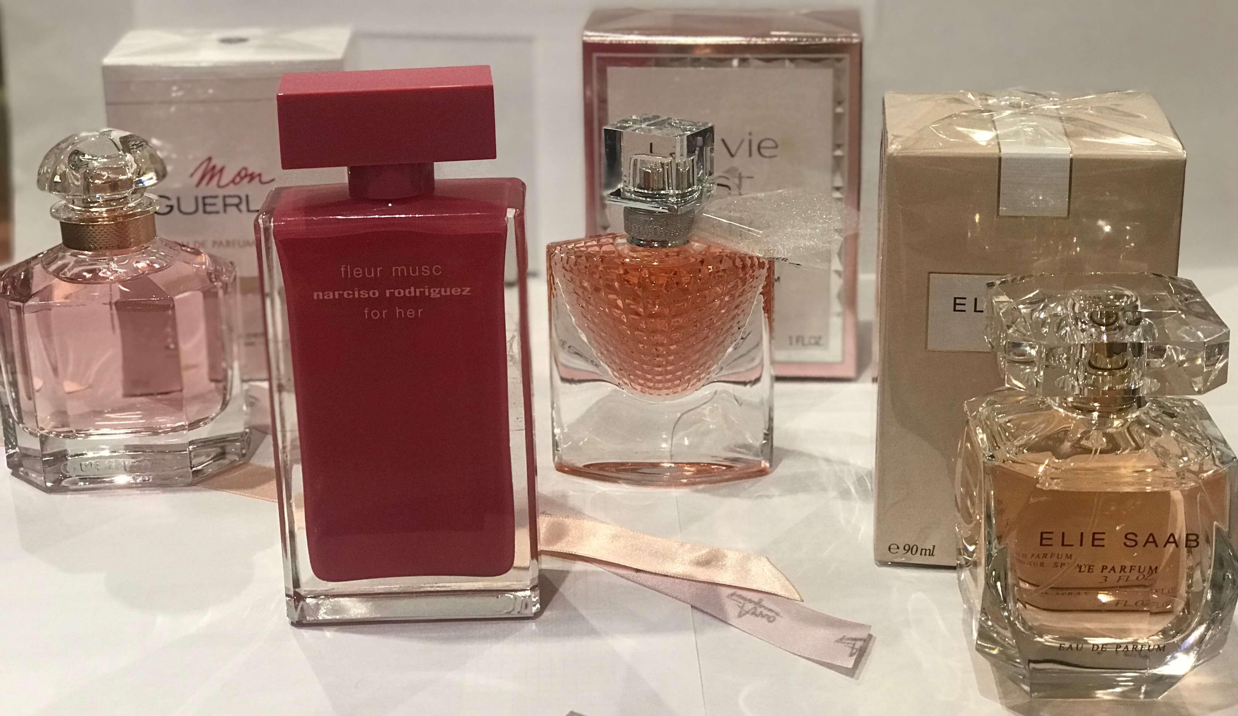Top perfumes para mujer - verano 2018
